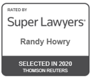 Super Lawyers 2020 - Randy Howry
