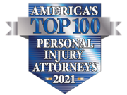 America's Top 100 Personal Injury Attorneys 2021