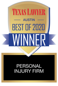 Texas Lawyer Austin Best of 2020: Personal Injury Firm