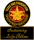 Texas Bar Foundation - Sustaining Life Fellow