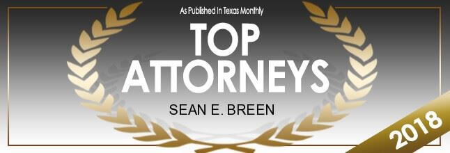 Texas Monthly Top Attorneys - Sean E. Breen
